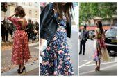 Çiçekli Elbise Nasıl Kombinlenir?