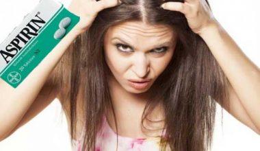 Aspirin Maskesi ile Saçlarınız Uzasın
