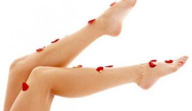 5 Adımda Pürüzsüz Bacaklar