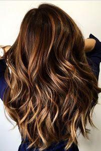 uzun katlı kesim saç modeli