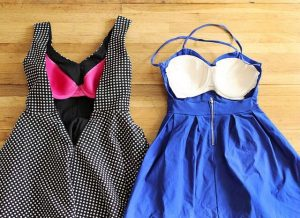 sırtı açık elbisede sütyen nasıl gizlenir