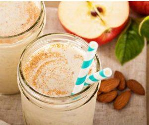elmalı smoothie