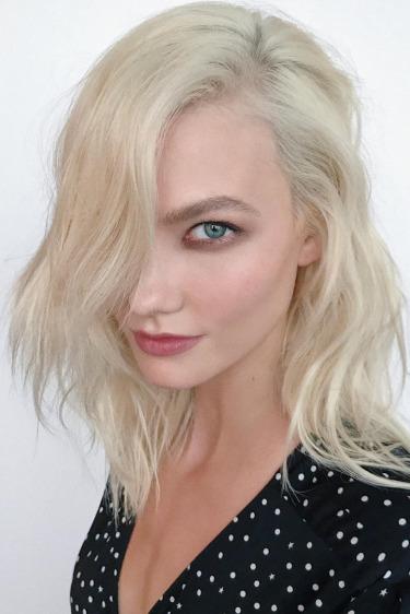 beyaz platin saç rengi