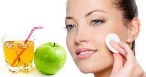 elma sirkesinin cilde yararları