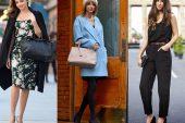 Çanta ile Kıyafet Kombinasyonu Nasıl Yapılmalıdır?
