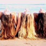 saçlarınızı güneşten koruyun