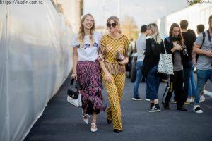 2018 İlkbahar Yaz Milano Sokak Modası 10