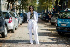 2018 İlkbahar Yaz Milano Sokak Modası 2