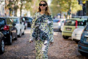 2018 İlkbahar Yaz Milano Sokak Modası 6