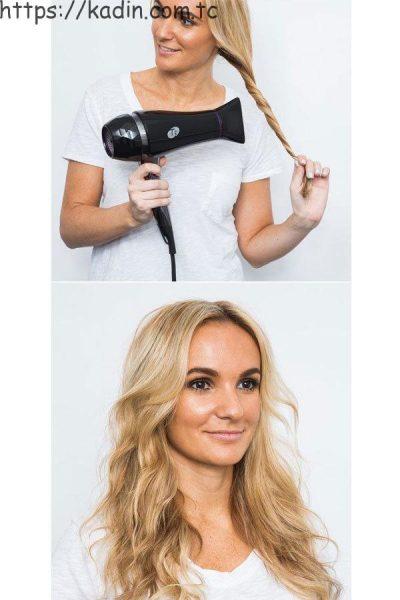basit saç şekillendirme 2