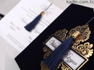 en güzel düğün davetiyesi modelleri 2