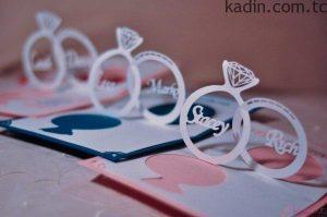 en güzel düğün davetiyesi modelleri 5