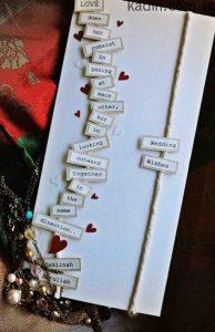 en güzel düğün davetiyesi modelleri 6