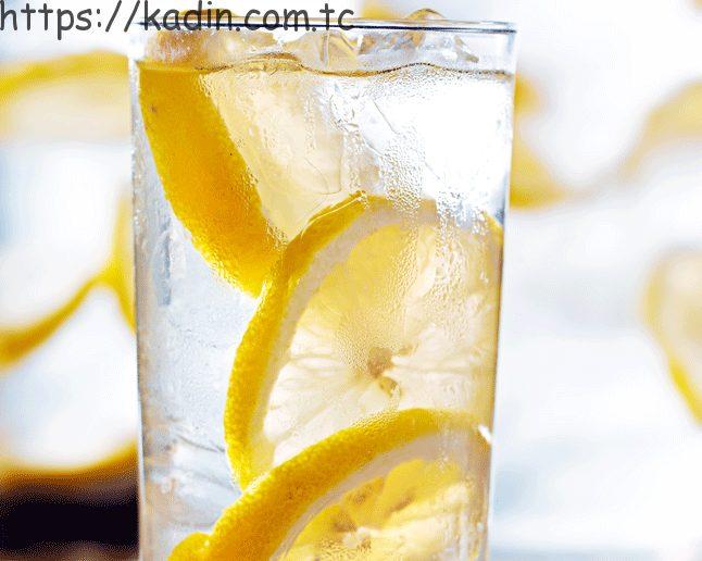 limonlu suyun etkisi