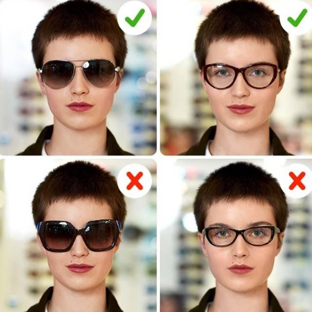 oval yüzler gözlük seçimi