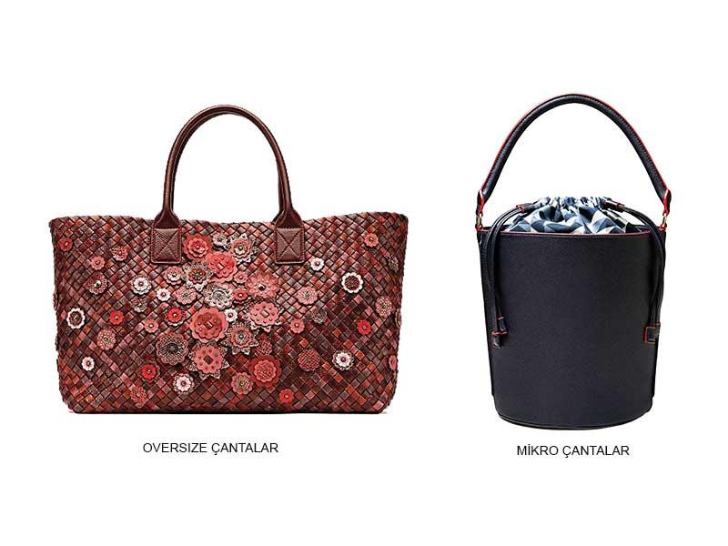 kadın çanta seçimi