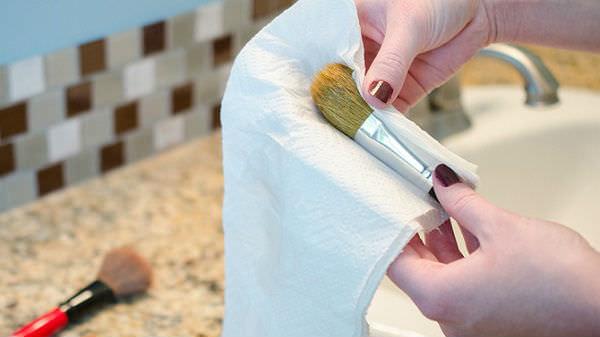 şekli bozulan fırçaları kurtarma yöntemi