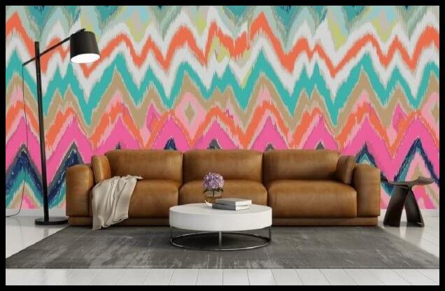 2018-2019 ev dekorasyon trendi zikzak