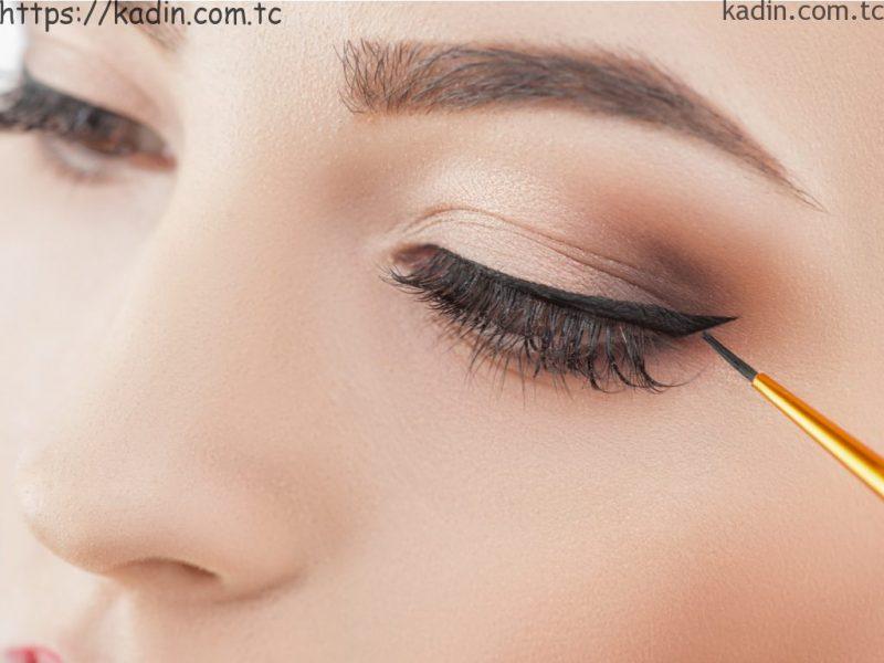 eyeliner çekimi