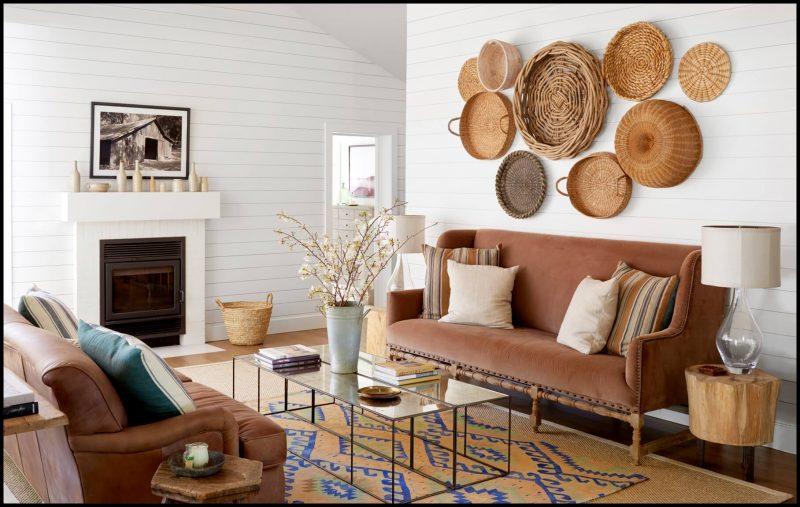 sonbaharda evinizi güzelleştirin hasır dekor