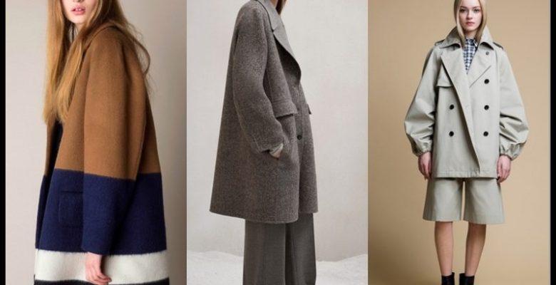 2018 Oversize Palto Modası