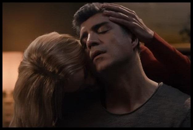 Meryem uzerli öpüşme sahnesi