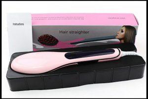 Saç Düzleştiren Tarak Kullanımı