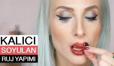 Makyaj Dünyasında Yenilik Soyulabilir Lipstick