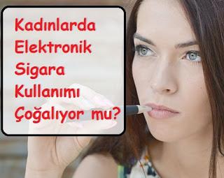 Kadınlar Elektronik Sigara